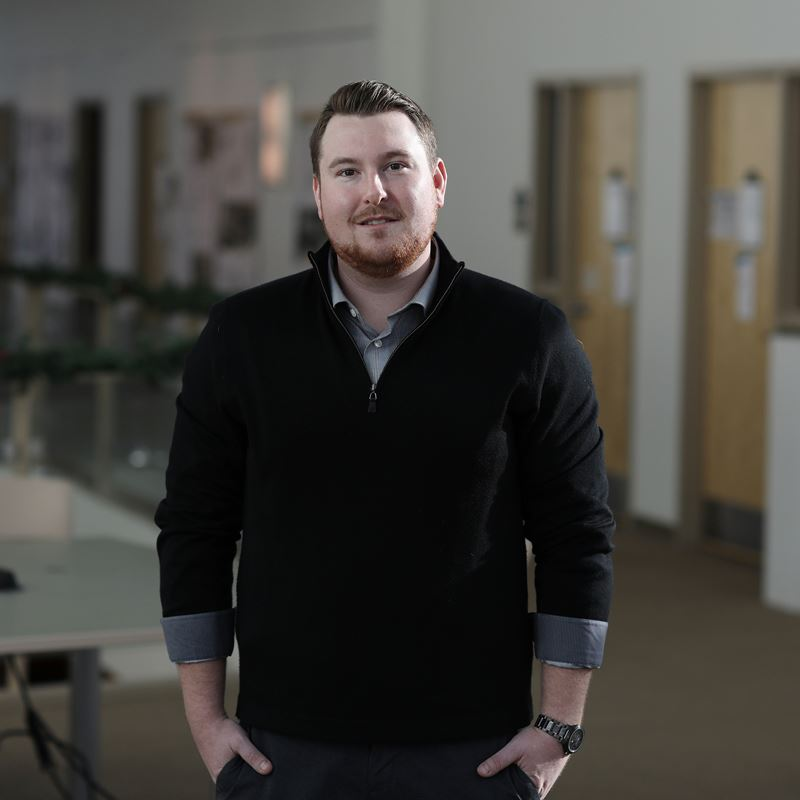 Matthew Donahue's career in homeland security has taken off thanks to his Van Loan School at Endicott College education.
