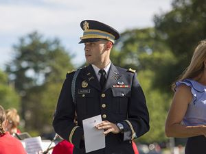 Military member in the community